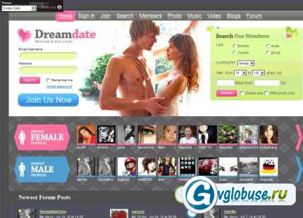 cms для сайт знакомств